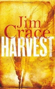 The book cover art of Harvest by Jim Crace