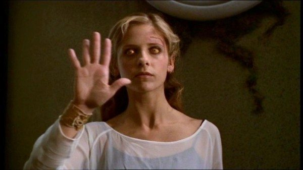 "A still from ""Buffy the Vampire Slayer."""