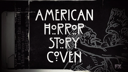 Ttitle card for American Horror Story: Coven