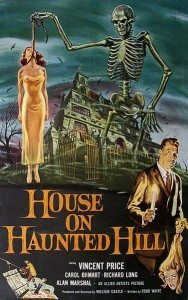 Movie poster for House on Haunted Hill.