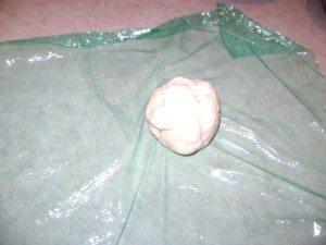 A ball of dough.