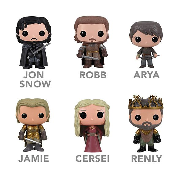 Game of Thrones vinyl action figures series II