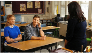 A still image from Parenthood episode 5.03.