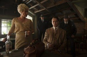 Nucky makes a deal in Sally's.