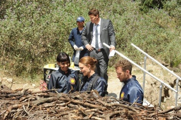 A still image from Bones episode 9.09.