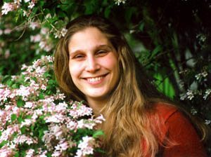 Photograph of Jane Irwin, creator of Clockwork Game