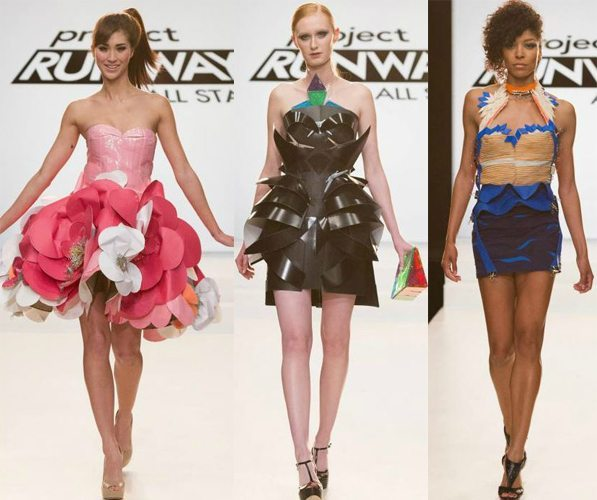 Irina Christopher Korto designs Project Runway All Stars Season 3 Episode 4