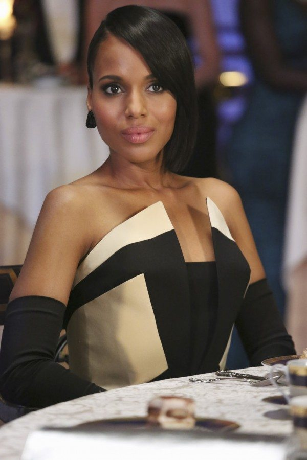 "Olivia Pope (Kerry Washington) in Scandal 3.05 ""More Cattle, Less Bull"""