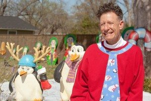 Lyle Lovett in Christmas Sweater