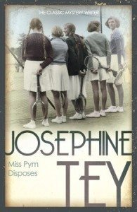 "The cover of ""Miss Pym Disposes"" by Josephine Tey."