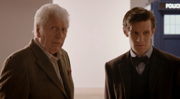 "Tom Baker makes a surprise appearance in ""The Day of the Doctor."""