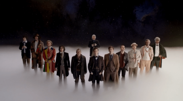 "The many incarnations of the Doctor close out ""The Day of the Doctor."""