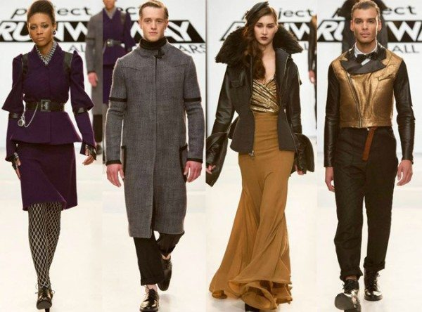 Seth Aaron Jeffrey Irina Mychael designs Project Runway All Stars season 3 episode 5