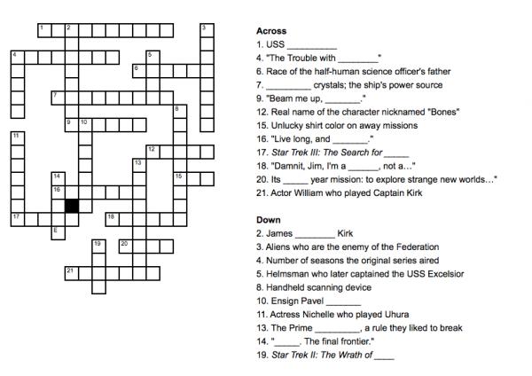 Sex Crossword Puzzle 64