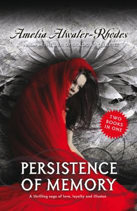 Book cover for Persistence of Memory by Ameila Rhodes
