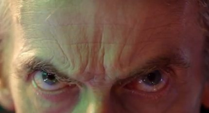 "A brief appearance of Peter Capaldi in ""The Day of the Doctor."""