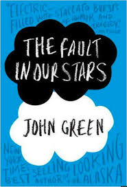 "The cover of ""The Fault in our Stars"" by John Green."