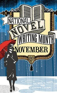 A National Novel Writing Month (NaNoWriMo) Poster