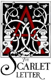 "Cover of ""The Scarlet Letter"" by Nathaniel Hawthorne."