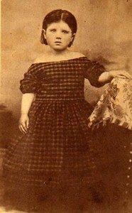 A picture of Belle Case La Follette as a child.