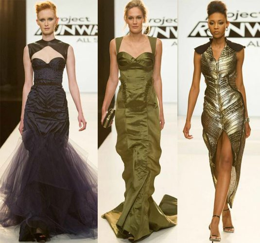 Christopher Viktor Seth Aaron designs Project Runway  All Stars season 3 episode 7