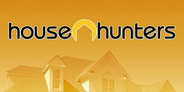 A picture of the House Hunters logo.