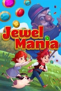Screencap of Jewel Mania iPhone app