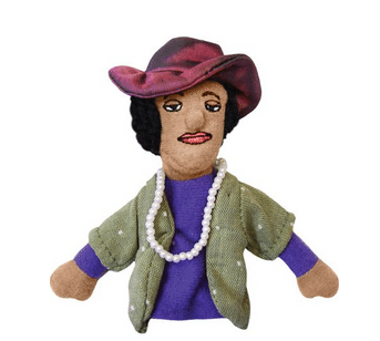 The Unemployed Philosopher's Guild Zora Neale Hurston Finger Puppet/magnet