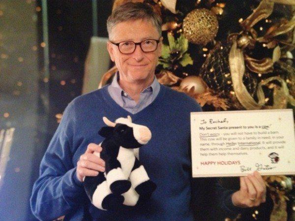 """""""Bill holding my sign! AHH!"""" -  Reddit user NY1227,"""