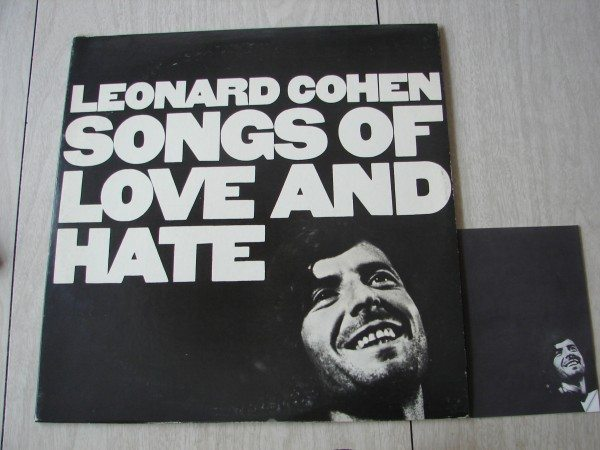 leonard cohen -songs of love and hate