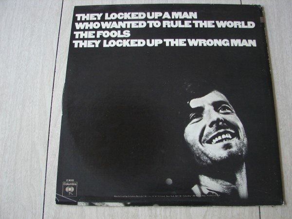 leonard cohen -songs of love and hate- back cover