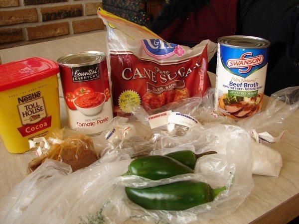 Chili ingredients, part 2