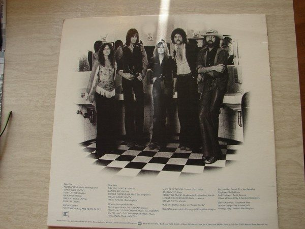 Fleetwood Mac, back cover (1975)