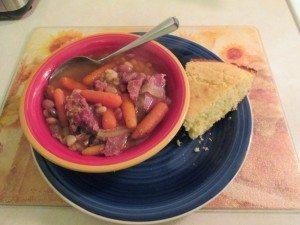 Soup, ready to serve.