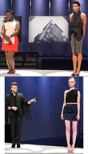 Korto and Christopher designs Project Runway All Stars Season 3 Episode 9