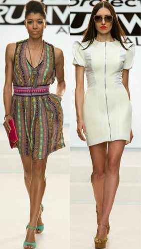 Korto and Elena designs Project Runway All Stars Season 3 Episode 9