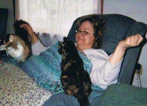 My mom, Alegria, and Shiloh.