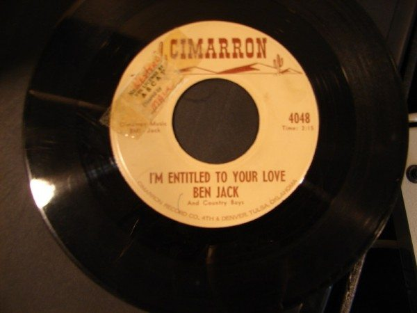 Ben Jack - I'm Entitled to Your Love