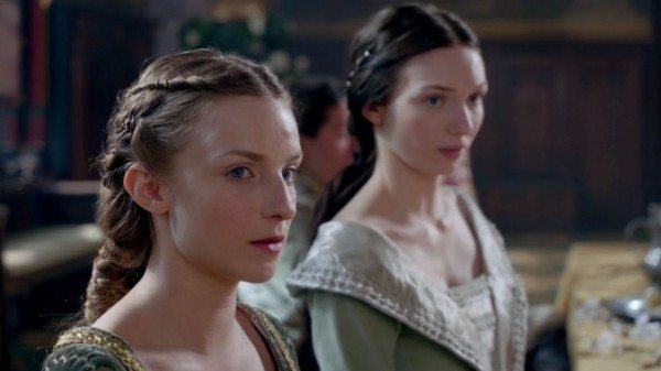 "A picture of two women, from BBC's ""The White Queen."""