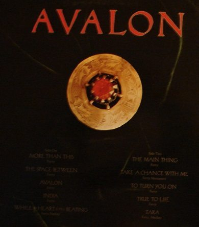 Roxy Music- Avalon back cover