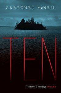Cover for the novel Ten
