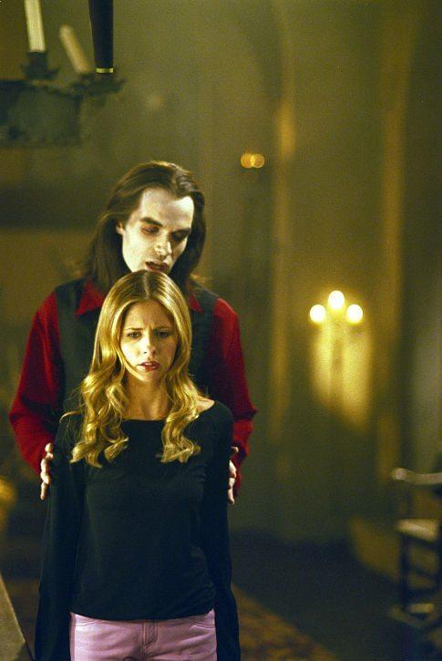 Dracula lurks ominously over Buffy
