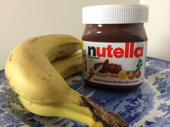 Bananas and Nutella