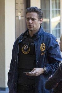 Tim Gutterson, decked out in U.S. Marshal gear