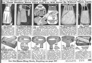 1916 ad for feminine hygiene products.