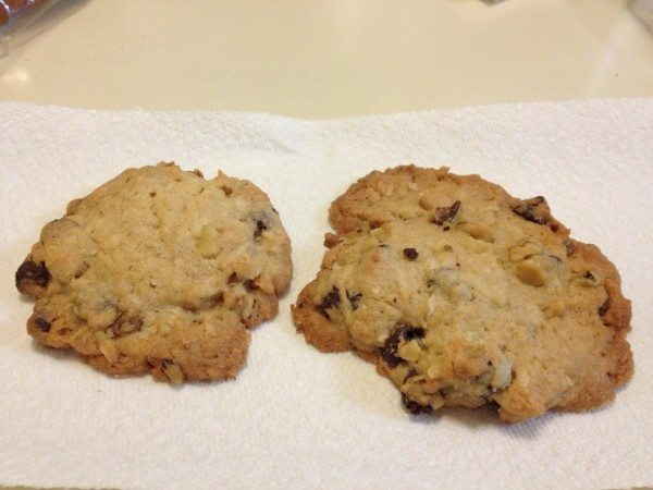 Two giant better than sex cookies