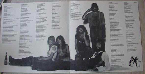 Fleetwood Mac - Rumours liner notes (lyrics)