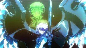 """A still image from """"Nobunagun ep 12"""""""