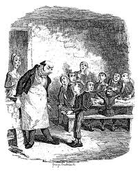 Oliver Twist at the workhouse