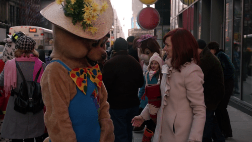 The Good Wife's Elsbeth and a terrible racist bear.